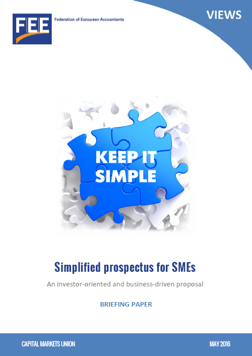 Simplified prospectus for SMEs